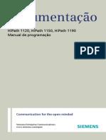 Programação Siemens Manual HP 1120 1150 1190