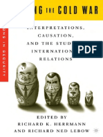 Richard K. Herrmann, Richard Ned Lebow Ending the Cold War Interpretations, Causation, And the Study of International Relations New Visions in Security 2004