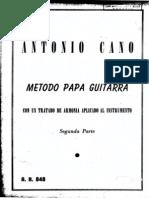 Cano - Armonia Para Guitarra