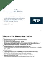 Sosialisasi SNI ISO-IEC 38500-2013 Rev1