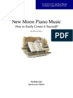 New Moon Piano Music - Easily Create it Yourself!