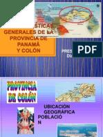 Características Generales de La Provincia de Panamá