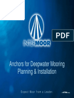 Anchors for Deepwater Mooring 