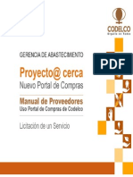 Manual de Proveedores Servicios Caso1 Sap