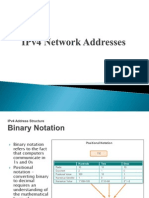 IPv4 Network Addresses