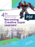 Becoming Creative Super Learners Workshop (23 Aug - 2014)