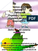 power point de sistema respiratorio para la plantilla