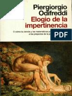 Odiffreddi, Piergiorgio - Elogio de La Impertinencia