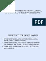 10-KRIBHCO-EnergySavingOpportunuties InAmmonia&UreaPlants Ver 1