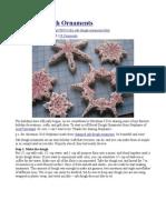 Salt Dough Ornaments Recipe & Instructions