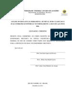 Projeto Final - Leonardo Chrispim 2011 - Universidade Federal Do Rio de Janeiro - Orientador Prof José Luis Lopes