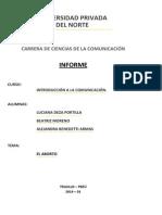 Informe - El Aborto