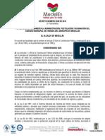 Decreto 2339 - Subsidio Municipal de Vivienda