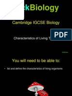 Characteristics of Living Things Presentation Ppt2003