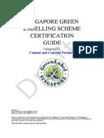 SGLS 02-2013 Cement & Concrete Products
