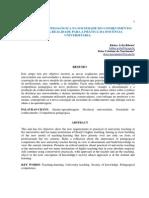 Ribeiro & Nascimento _ Competencia Pedagogica Na Sociedade Do Conhecimento