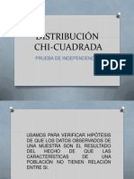 Dsitribución Chi Cuadrado