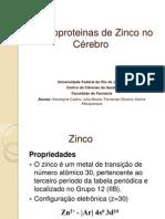 Metaloproteinas de Zínco No Cérebro 2