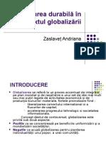 globalizarea