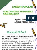 Alfonso Torres Ponencia Educación Popu