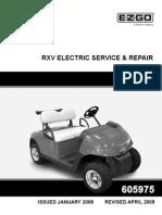 electri golf & per, rxv fleet,freedom,shuttle 2+2,2008,605975