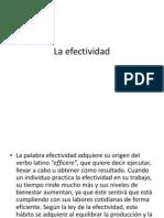 La efectividad.pptx