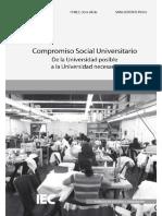 Compromiso Social Universitario - De La Universidad Posible a La Universidad Necesaria