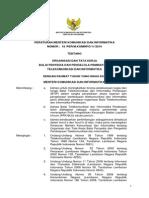 PM Kominfo No.18 Tahun 2010