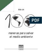 100maneras Salvar Medio Ambiente