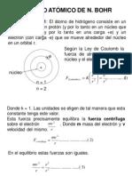 Diapositiva de Modelos Atómicos