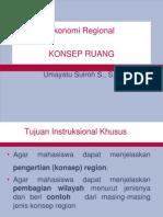 KONSEP EKonomi regional.ppt