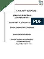Proyecto Transmisor FM