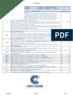 Key-Code AVDI_Diagnostics USD