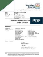 Auckland Development Committee Agenda - June 14
