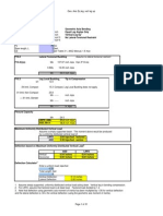Single Angle Design Manual Spreadsheets