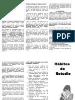 Habitos de Estudio Carlitos 2014