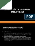 Tarea 1 - Evaluación de Decisiones Estratégicas