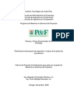 Proyecto Expansion Planta de Manufactura (AFS_VMA)
