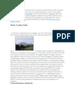 En Esta Página Mostramos Algunos de Los Volcanes Más Importantes Del Mundo
