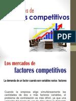 Mercado de Factores Competitivos