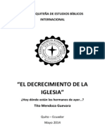 Monografía-El Decrecimiento de La Iglesia