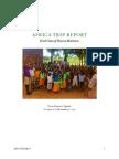 africa trip report