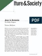 Jews in Armenia. The Hidden Diaspora Vartan Akchyan