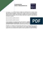 Taller 4. Ordenamiento y Procesamiento de La Informacion