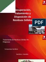 Recuperación, Tratamiennto y Disposición de Residuos Sólidos