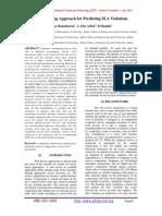 Novel Sensing Approach for Predicting SLA Violations