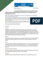 A Funciones de Molécula Pequeña Antagonista Inhibe La Tirotropina Receptor Antibody-Induced Orbital Fibroblastos Involucrado en La Patogénesis de La Oftalmopatía de Graves