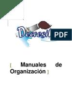 Manuales de Organización
