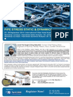 Pipe Stess Static and Dynamic Analysis