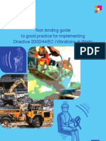 Non Binding Guide to Good Practice for Implementing Directive 2002-44-EC
